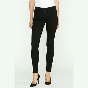 NWT Hudson Nico Mid-rise Black Super Skinny Jeans